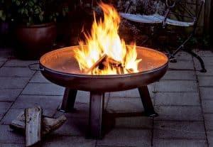 Feuerschale aus Gusseisen, Edelstahl , Eisen oder Stahl